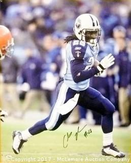 Chris Johnson Signed Tennessee Titans 16x20 Photo