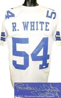 Randy White Signed White TB Custom-Stitched Pro Style Football Jersey