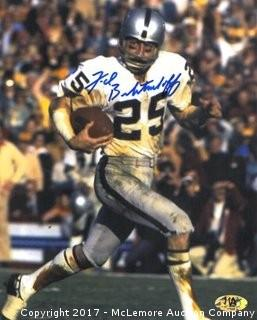 Fred Biletnikoff Signed Oakland Raiders 8x10 Photo