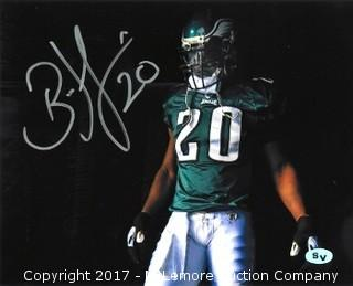 Brian Dawkins Signed Philadelphia Eagles 8x10 Photo