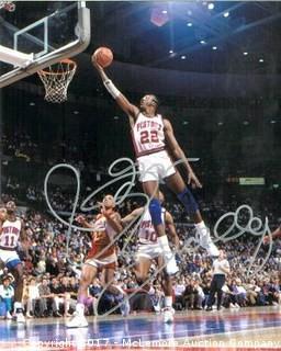 John Salley Signed Detroit Pistons 8x10 Photo