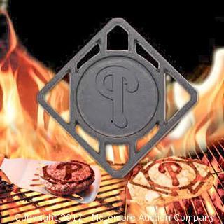 Philadelphia Phillies Pangea BBQ Meat Brander