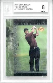 Tiger Woods 2001 Upper Deck Tiger's Tales #TT28 Golf Card
