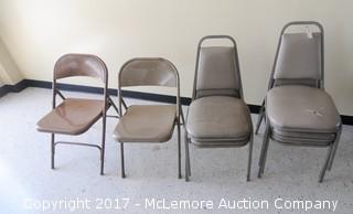 Assortment Of 7 Chairs