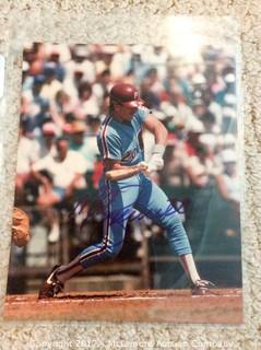 "Mike Schmidt Autographed 8"" x 10"" Photo, Scoreboard COA"