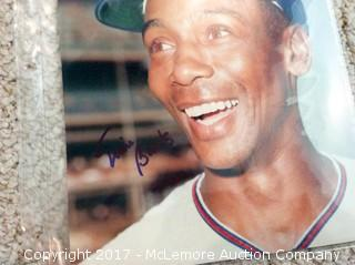 "Ernie Banks Autographed 8"" x 10"" Photo with COA"
