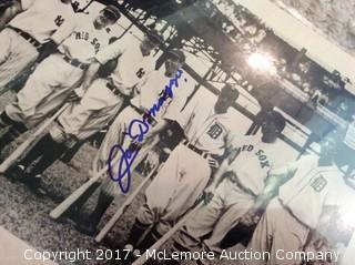 "Joe DiMaggio Autographed Matted 8"" x 10"" Photo, Scoreboard COA"