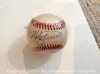 Mike Schmidt Autographed Baseball, Scoreboard COA