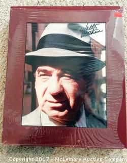 "Walter Mattheau Autographed Matted 8"" x 10"" Photo with Hollywood COA"