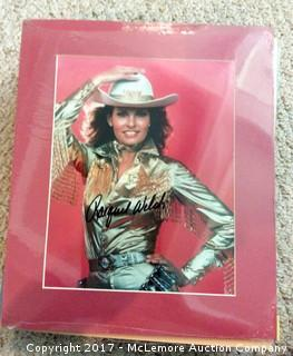 "Raquel Welch Autographed Matted 8"" x 10"" Photo with Hollywood COA"