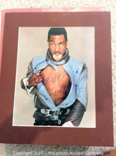 """Eddie Murphy Autographed Matted 8"""" x 10"""" Photo with Hollywood COA (Signature faded)"""