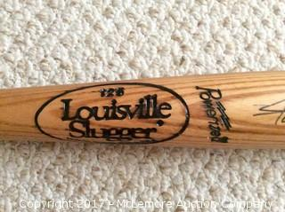 Willie Mays Autographed Game-Used Spring Training Bat with Global Authentics COA