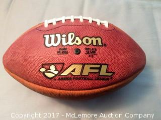 Original 1980's AFL Unused Game Football