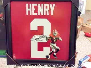 "Derrick Henry Autographed ""Uniform"" from Steiner Sports"