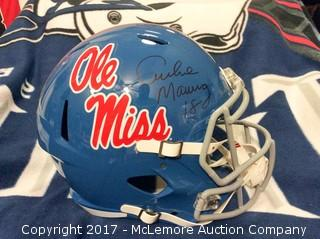 Archie Manning Autographed Ole Miss Full Size Helmet