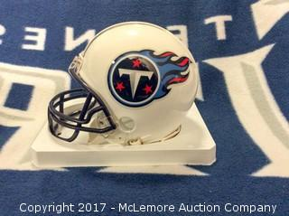 Demarco Murray Autographed Tennessee Titans Mini Helmet with Global Authentics COA/Hologram