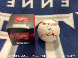 Aaron Judge Autographed MLB Baseball