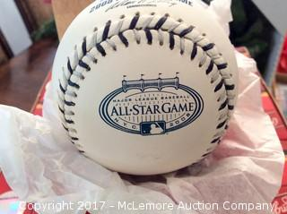 One Dozen Unopened 2008 All-Star Game Baseballs from Last All-Star Game at Old Yankee Stadium