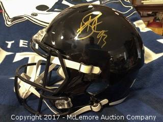 Pittsburgh Steelers Autographed Full Size Speed Helmet, Signed by Roethlisberger/Brown/Bell/Tomlin/Bradshaw/Polomalu/Shazier