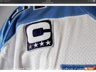 Craig Hentrich 2007 Tennessee Titans Game-Used Jersey & Belt