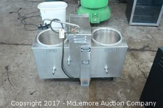 Bunn-O-Matic Twin 3 Gallon Commercial Coffee Urn