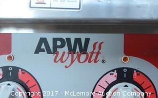 APW Wyott Champion Two Burner Countertop Electric Hotplate