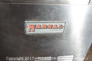 Marshall Rolling Stainless Steel Pizza Prep Station
