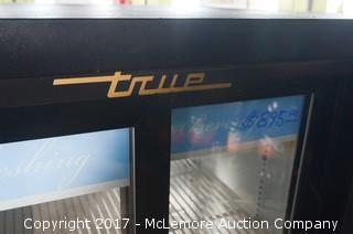 True Glass Front Drink Merchandiser