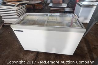 True Sliding Glass Ice-Cream Dipping Cabinet