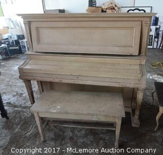 "Baldwin Upright ""Grand Prix"" Piano"