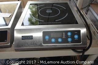 (2) Commercial Induction Cook-Tops