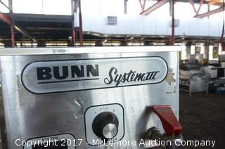 Bunn System III Coffee Maker