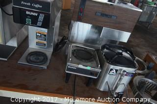Assortment of Commercial Coffee Brewing Systems