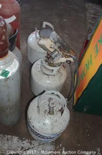 (3) Propane Cylinders