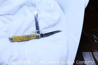 Case USA 6207 SS - Toasted Bone Handle - Mini Trapper