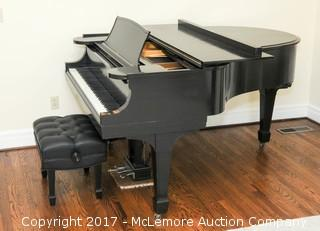 1910 Steinway & Sons Baby Grand Piano with Seat