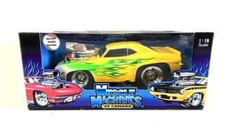 Funline Muscle Machines '69 Camaro Die Cast Metal Collectible Car