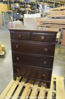 Davis Cabinet Walnut Chest of Drawers
