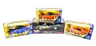 Jada BigTime Muscle 1:24 Scale & Hot Wheels 1:18 Scale Die Cast Metal Cars