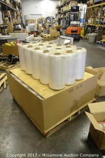 (40) Rolls of Quick Pak Plastic Pallet Wrapper