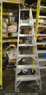 Werner Aluminum A-Frame Ladder