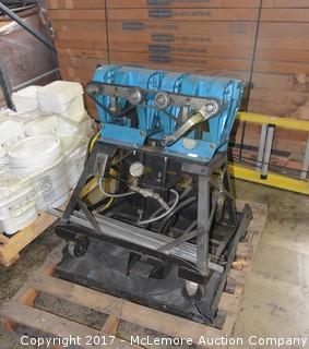 Conveyor Belt Crimping Machine