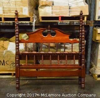 Davis Cabinet Solid Wood Full Bed