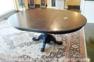 Oval Dining Room Wood Table