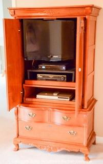Entertainment Center    CONTENTS NOT INCLUDED