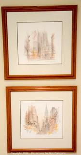 Two Prints of New York