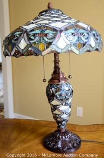 Stained-Glass Lamp