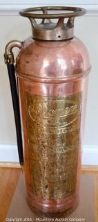 Phomene Copper Fire Extinguisher