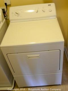 Kenmore Elite Dryer