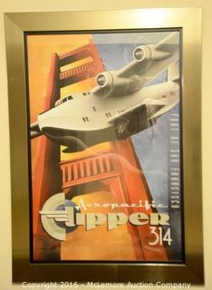 Arrow Pacific Clipper Poster